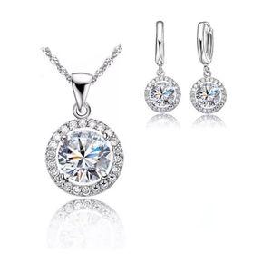 Pendant Necklace Earrings